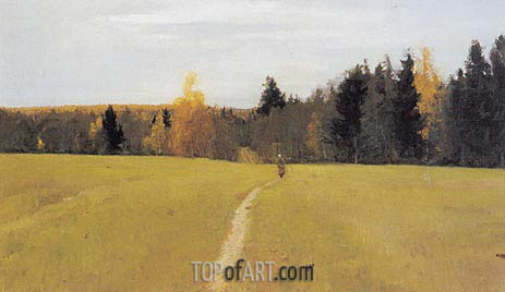 Autumn, Domotcanovo, 1892 | Valentin Serov | Painting Reproduction