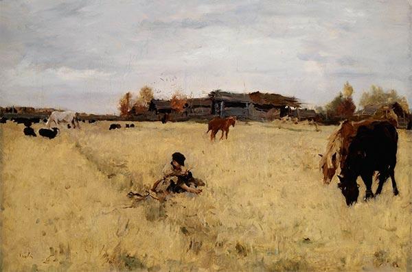 Valentin Serov | October, Domotcanovo, 1895