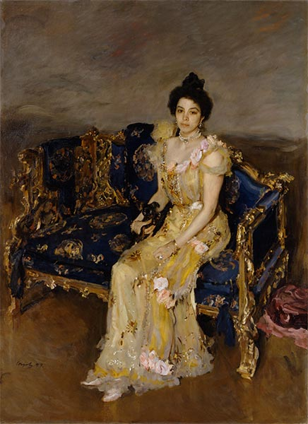 Portrait of Sophia Botkina, 1899 | Valentin Serov | Painting Reproduction