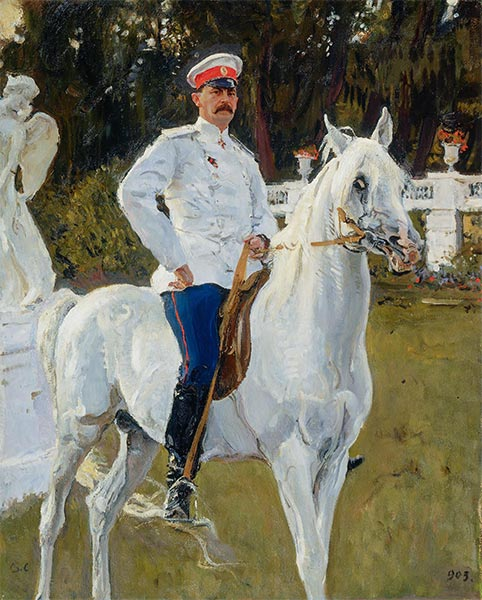 Portrait of Prince Felix Yusupov, Count Sumarokov, 1903 | Valentin Serov | Painting Reproduction