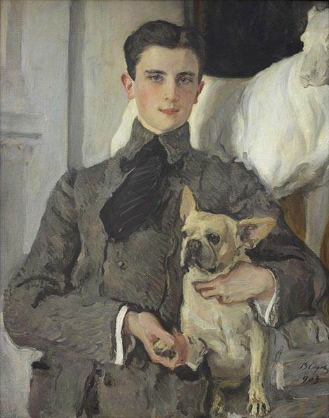 Portrait of Count Felix Sumarokov-Elstone, 1903 | Valentin Serov | Painting Reproduction