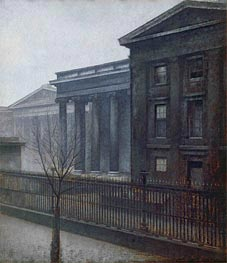 From the British Museum. Winter, 1906 by Hammershoi | Painting Reproduction
