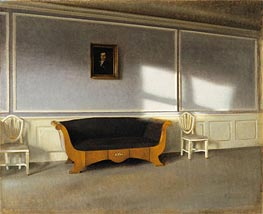 Sunshine in the Living Room III, 1903 by Hammershoi | Painting Reproduction