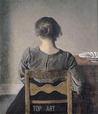 Hammershoi | Rest, 1905