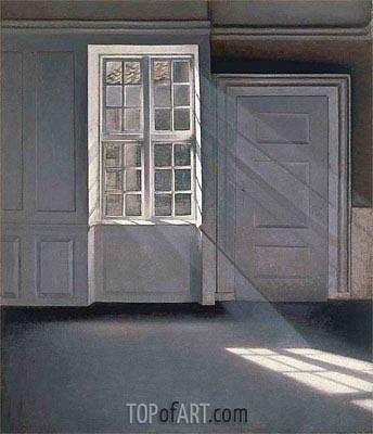 Hammershoi | Dust Motes Dancing in the Sunbeams, 1900