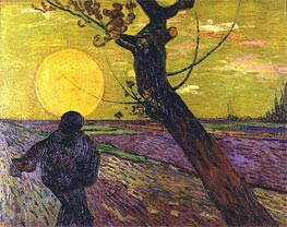 The Sower | Vincent van Gogh | outdated