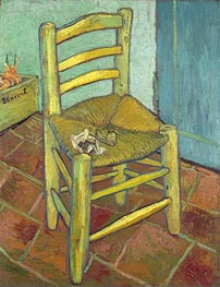 Vincent's Chair with His Pipe | Vincent van Gogh | outdated
