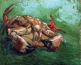 Crab on Its Back, 1889 by Vincent van Gogh | Painting Reproduction