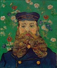 Postboten Joseph Roulin, 1889 von Vincent van Gogh | Gemälde-Reproduktion