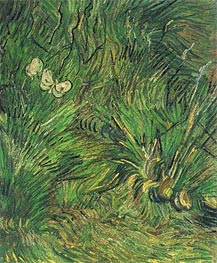 Two White Butterflies, 1889 by Vincent van Gogh | Painting Reproduction
