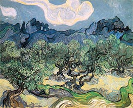 The Olive Trees, 1889 by Vincent van Gogh | Painting Reproduction