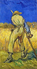 The Reaper (after Millett), 1889 by Vincent van Gogh | Painting Reproduction