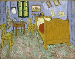 Vincent's Bedroom in Arles | Vincent van Gogh | Gemälde Reproduktion
