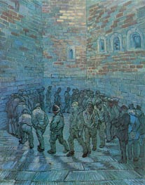 Prisoners Exercising (after Dore) | Vincent van Gogh | Gemälde Reproduktion