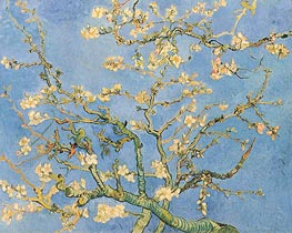 Blossoming Almond Tree | Vincent van Gogh | Gemälde Reproduktion