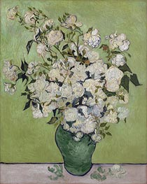 Vase of Roses | Vincent van Gogh | Painting Reproduction