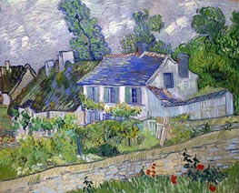 House in Auvers | Vincent van Gogh | Painting Reproduction