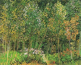 The Grove, July 1890 by Vincent van Gogh | Painting Reproduction