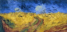 Wheat Field with Crows | Vincent van Gogh | Gemälde Reproduktion