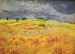 Plain at Auvers | Vincent van Gogh | Gemälde Reproduktion