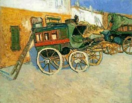 Tatascon Diligence, October 18 by Vincent van Gogh | Painting Reproduction