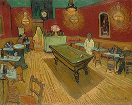 The Night Cafe in the Place Lamartine in Arles, 1888 von Vincent van Gogh | Gemälde-Reproduktion