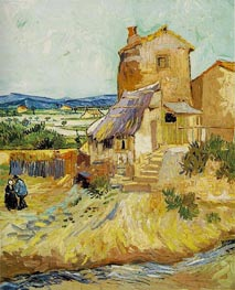 The Old Mill, September von Vincent van Gogh | Gemälde-Reproduktion