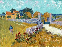Farmhouse in Provence | Vincent van Gogh | veraltet