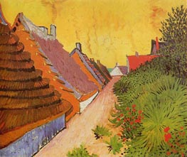 Street in Saintes-Maries, 1888 by Vincent van Gogh | Painting Reproduction