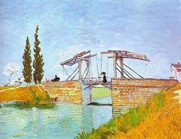 Die Zugbrücke bei Arles, May 1888 von Vincent van Gogh | Gemälde-Reproduktion