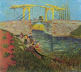 The Langlois Bridge at Arles | Vincent van Gogh | veraltet