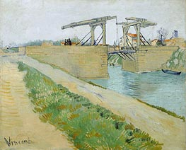 The Langlois Bridge at Arles with Road Alongside | Vincent van Gogh | veraltet