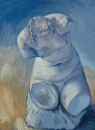 Plaster Statuette of a Female Torso, Winter 188 by Vincent van Gogh | Painting Reproduction