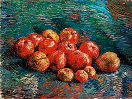 Still Life with Apples, 1887 by Vincent van Gogh | Painting Reproduction