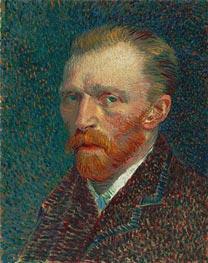 Selbstporträt, 1887 von Vincent van Gogh | Gemälde-Reproduktion