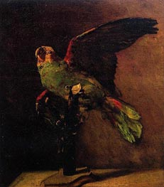 The Green Parrot, Autumn 188 von Vincent van Gogh | Gemälde-Reproduktion