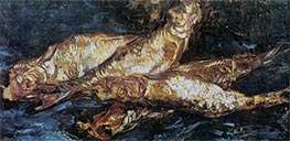 Still Life with Bloaters, Summer 188 von Vincent van Gogh | Gemälde-Reproduktion