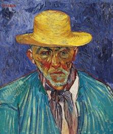 Portrait of a Peasant (Patience Escalier), 1888 von Vincent van Gogh | Gemälde-Reproduktion