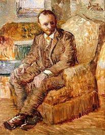 Portrait of Alexander Reid, c.1887 von Vincent van Gogh | Gemälde-Reproduktion