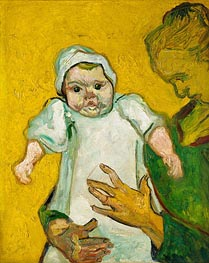 Madame Roulin and Her Baby | Vincent van Gogh | Gemälde Reproduktion