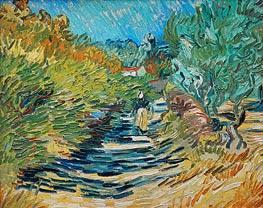 The Road to Saint-Remy | Vincent van Gogh | veraltet