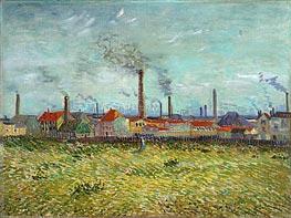 Factories at Clichy | Vincent van Gogh | veraltet