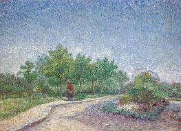 Corner in Voyer-d'Argenson Park at Asnières | Vincent van Gogh | Gemälde Reproduktion
