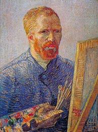 Self Portrait at the Easel | Vincent van Gogh | veraltet