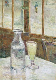 Café Table with Absinth | Vincent van Gogh | veraltet