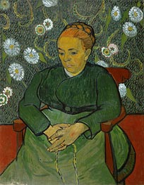 La Berceuse (Portrait of Madame Roulin) | Vincent van Gogh | veraltet