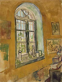 Window in the Studio | Vincent van Gogh | Gemälde Reproduktion