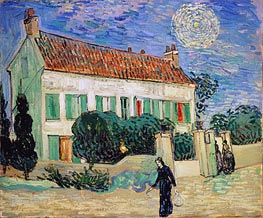 White House at Night | Vincent van Gogh | veraltet