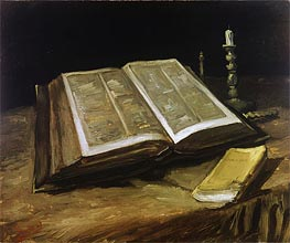 Still Life with Bible | Vincent van Gogh | veraltet