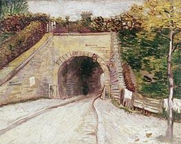 Roadway wtih Underpass (Tunnel through Hillside) | Vincent van Gogh | Gemälde Reproduktion